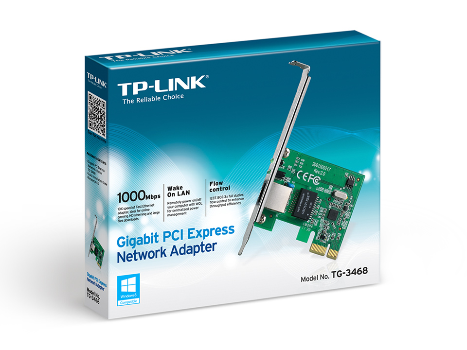 ADAPTER TP-LINK TG-3468 32-bit Gigabit