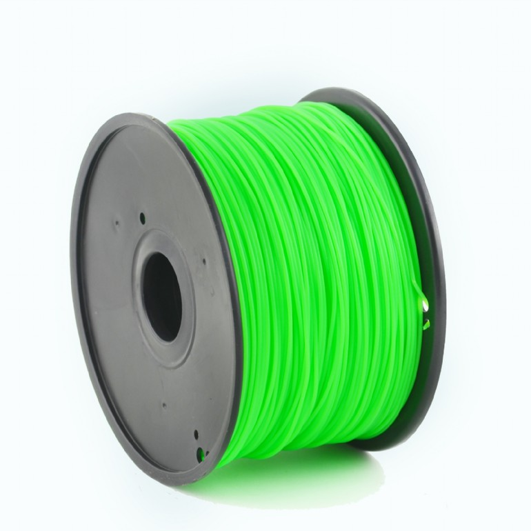 3D FILAMENT GEMBIRD ABS Filament Green, 1.75 mm, 1 kg | 3DP-ABS1.75-01-G