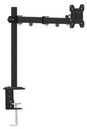 "[A04876] GEMBIRD Adjustable desk display mounting arm (tilting), 13""-27"", up to 8 kg 