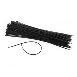 [A04975] GEMBIRD Nylon cable ties, 300 x 3.6 mm, UV resistant, bag of 100 pcs | NYTFR-300x3.6