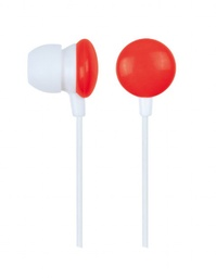 [A05887] GEMBIRD In-earphones, candy red | MHP-EP-001-R